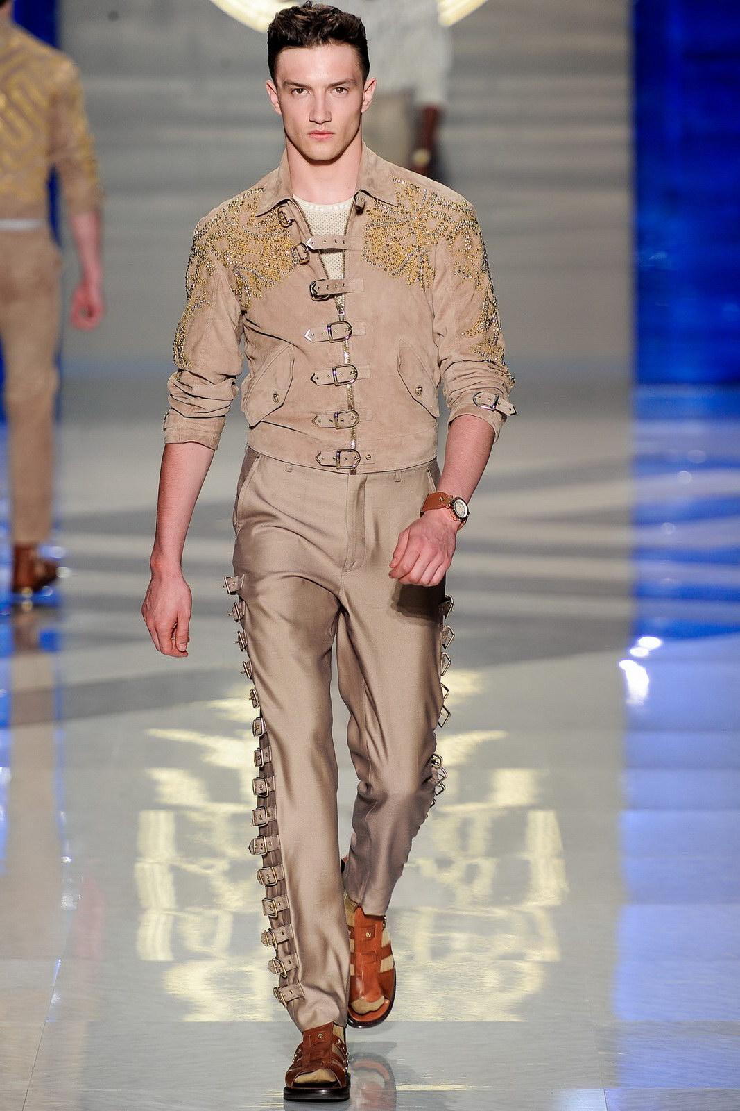 春夏男装 versace/Versace 2012春夏男装