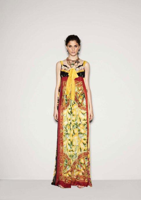 Dolce & Gabbana 秋冬2011 LookBook高清图片