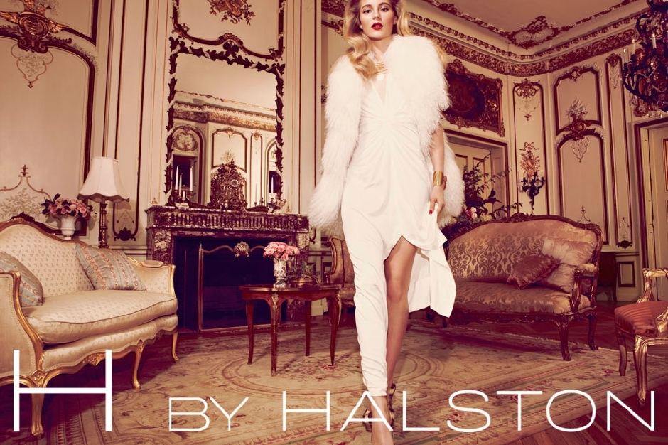 唯美 halston/H by Halston Holiday 2011假日系列广告...