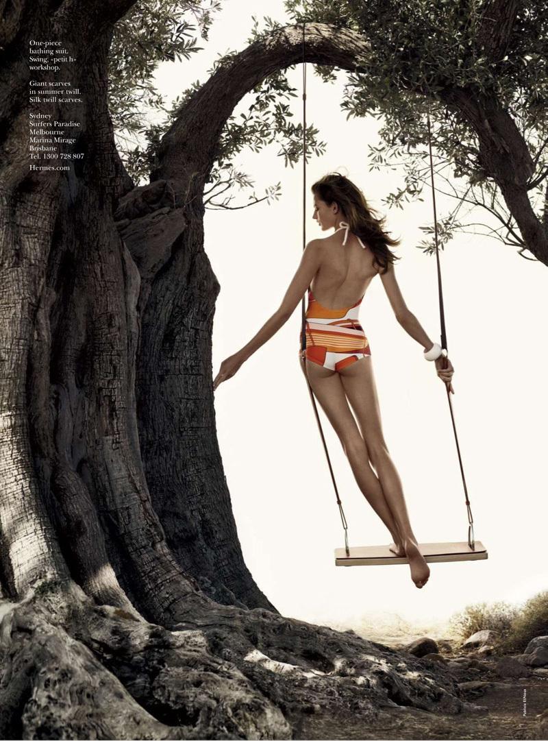 Hermes  2012春夏广告 高清图片