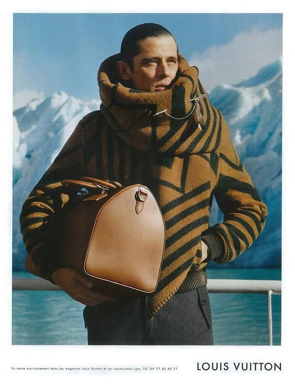 Louis Vuitton 2012年秋冬系列男装广告高清图片