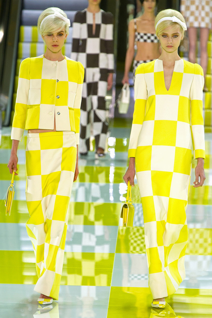 Louis Vuitton 2013春夏秀场高清图片