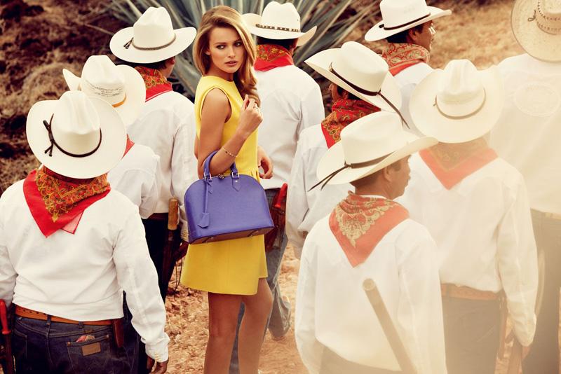 Louis Vuitton 2012秋冬旅行系列广告高清图片