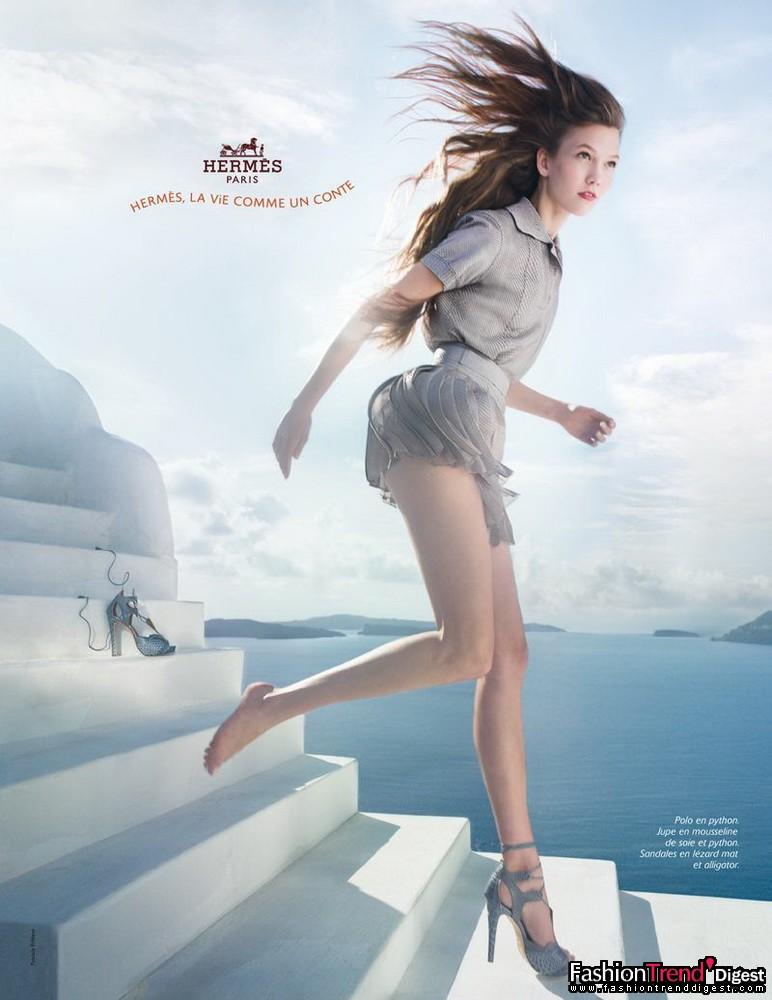 Hermès 2010春夏广告高清图片